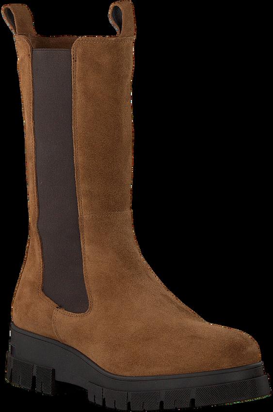 Cognac NOTRE-V Chelsea boots KIM  - larger