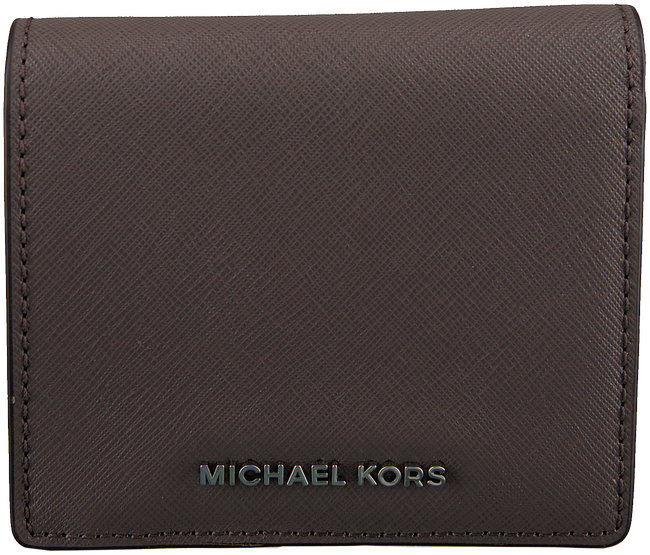 Taupe MICHAEL KORS Portemonnee CARRYALL CARD CASE - large