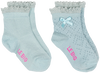 Blauwe LE BIG Sokken ISOLDE SOCK 2-PACK - small