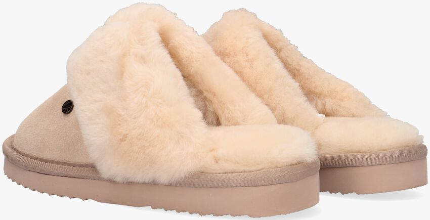 Beige WARMBAT Pantoffels FLURRY  - larger