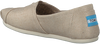 Beige TOMS Instappers CLASSIC - small