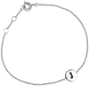Zilveren ALLTHELUCKINTHEWORLD Armband CHARACTER BRACELET LETTER SILV - small