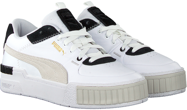Witte PUMA Lage sneakers CALI SPORT MIX WN'S  - large