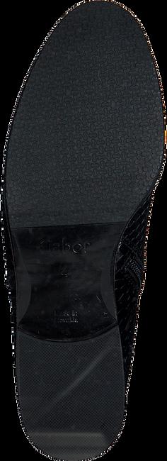 Zwarte GABOR Enkellaarsjes 742.1  - large