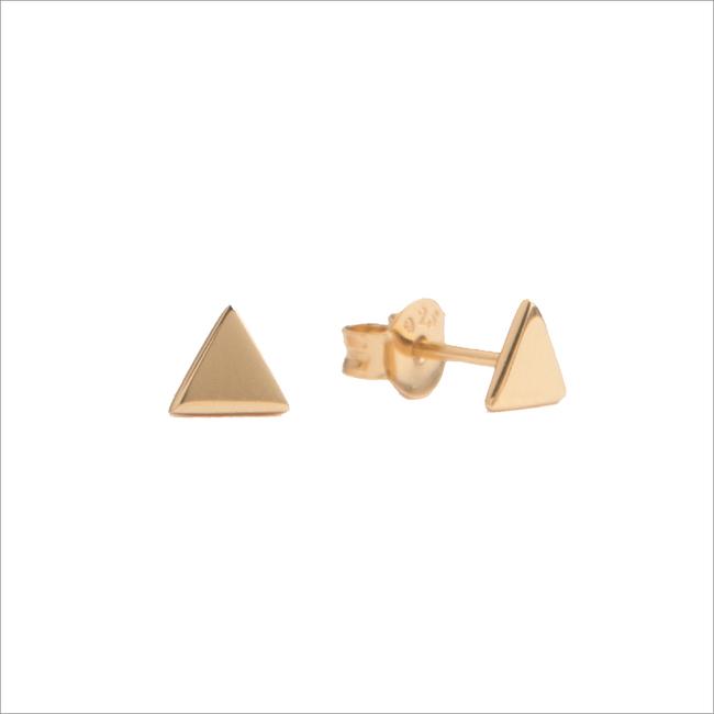 Gouden ATLITW STUDIO Oorbellen PARADE EARRINGS TRIANGLE - large