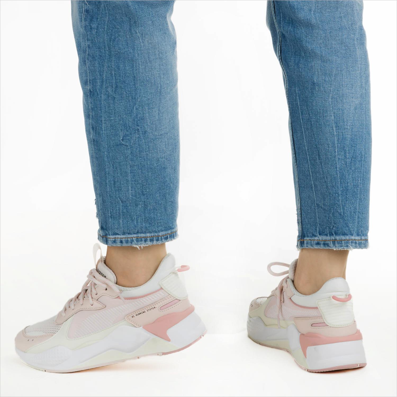 Groene PUMA Sneakers RS-X TRACKS | Omoda