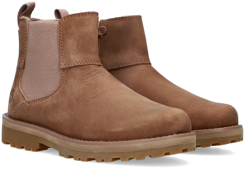 Bruine TIMBERLAND Chelsea boots COURMA KID CHELSEA  - larger