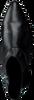 Zwarte BRONX Enkellaarsjes 34047 - small