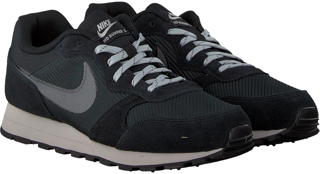 Zwarte NIKE Sneakers MD RUNNER HEREN - large