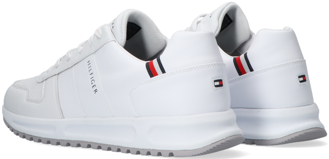 Witte TOMMY HILFIGER Lage sneakers MODERN CORPORATE RUNNER  - large