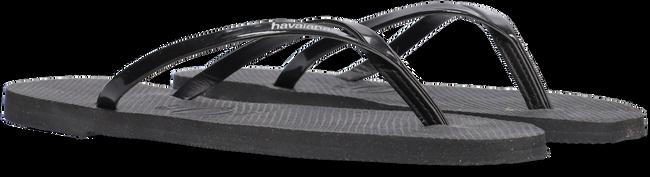 Zwarte HAVAIANAS Slippers YOU METALLIC  - large