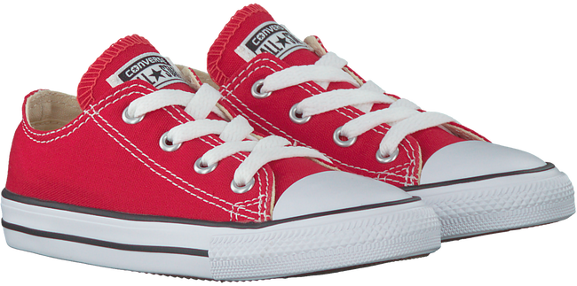 Rode CONVERSE Sneakers CTAS OX KIDS  - large