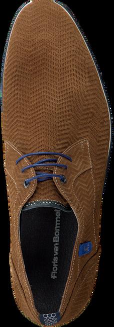 Cognac FLORIS VAN BOMMEL Nette schoenen 14076 - large