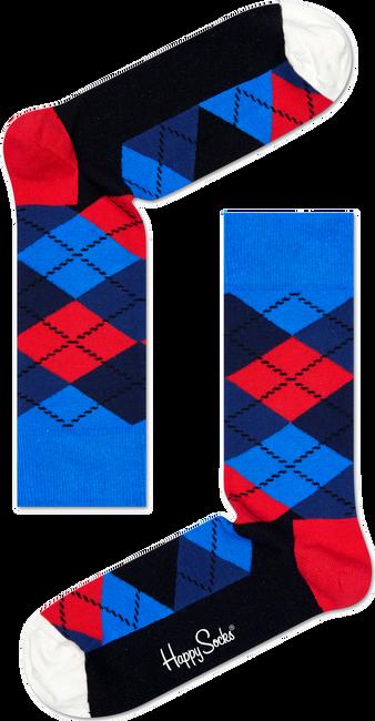Blauwe HAPPY SOCKS Sokken ARGYLE - large