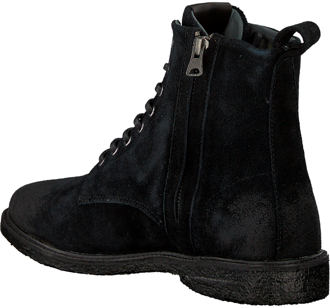 Zwarte BLACKSTONE Veterschoenen QM23 - large