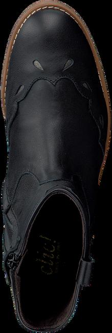 Zwarte CLIC! Enkellaarsjes 9835  - large
