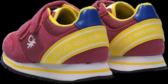 Roze BENETTON Lage sneakers JOY MX VELCRO  - large