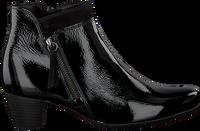 Zwarte GABOR Enkellaarsjes 821 - medium