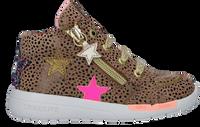 Taupe SHOESME Hoge sneaker RF21W040  - medium