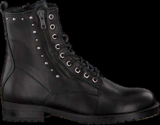 Zwarte HIP Veterschoenen H1167  - large