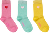 Roze LE BIG Sokken SHIRLEY SOCK 3-PACK  - small