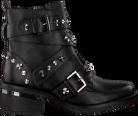 Zwarte GUESS Veterboots FANCEY  - medium