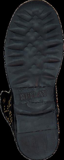 Zwarte REPLAY Biker boots RL260052L STAKE - large