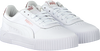 Witte PUMA Lage sneakers CARINA - small