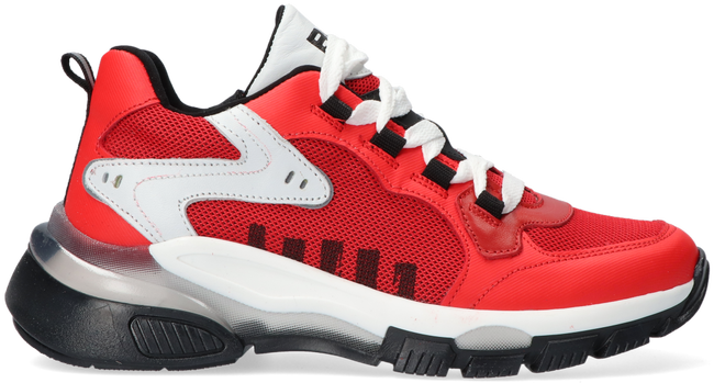 Rode BRAQEEZ Lage sneakers GIO GENNA  - large