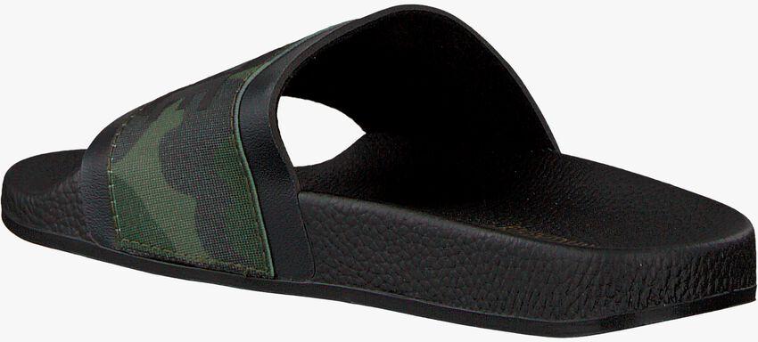 Groene THE WHITE BRAND Slippers ELASTIC MINIMAL KIDS - larger