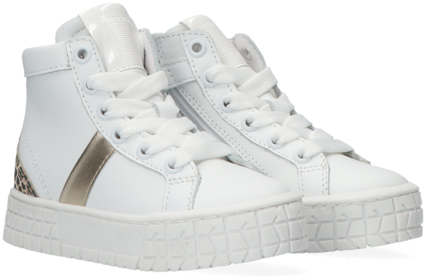 Witte PINOCCHIO Hoge sneaker P1805 - larger