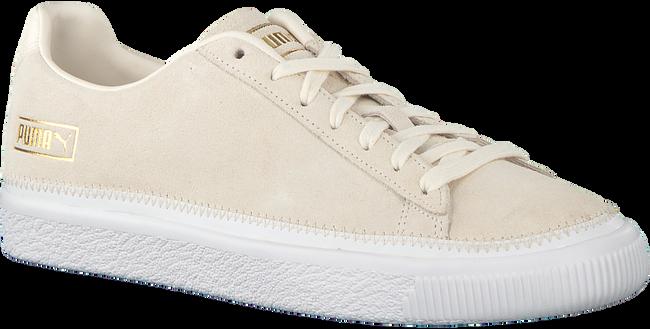 Beige PUMA Sneakers SUEDE TRIM  - large