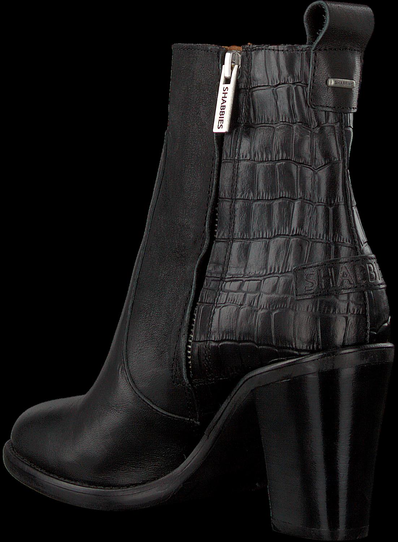 Zwarte SHABBIES Enkellaarsjes 183020156 SHS0714 | Omoda