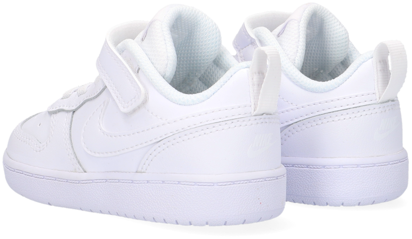 Witte NIKE Lage sneakers COURT BOROUGH LOW 2 (TDV)  - larger