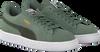 Groene PUMA Sneakers SUEDE CLASSIC JR - small