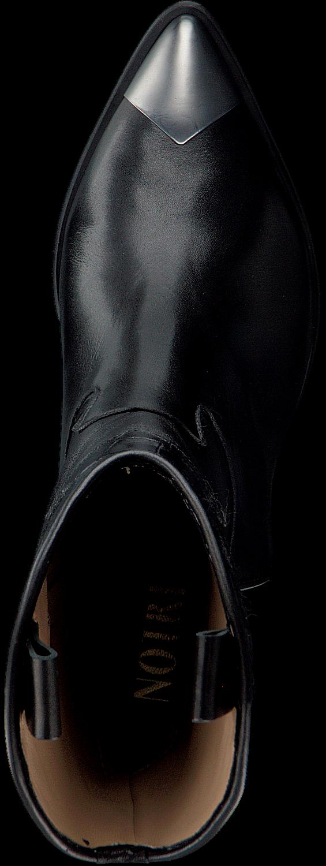 Zwarte NOTRE V Enkellaarsjes A1360 | Omoda