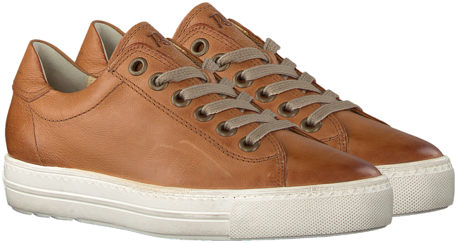 Camel PAUL GREEN Lage sneakers 4841 - large