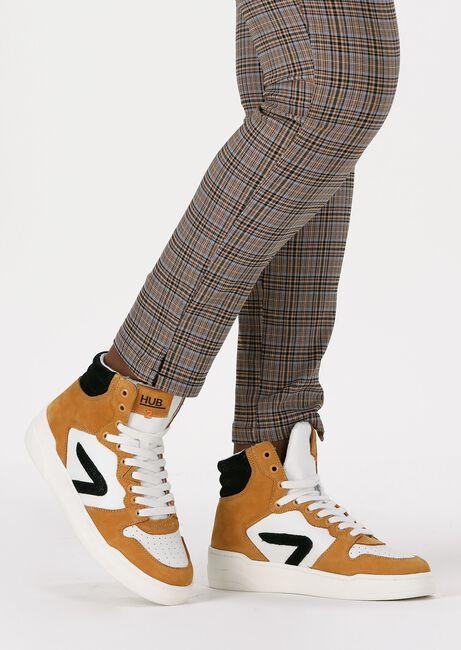 Gele HUB Hoge sneaker COURT-Z HIGH  - large
