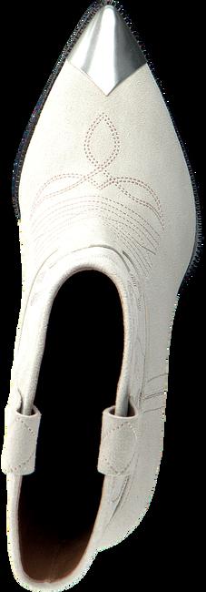 Witte LOLA CRUZ Enkellaarsjes 293T10BK  - large