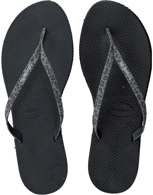 Zwarte HAVAIANAS Slippers YOU ANIMALS - large