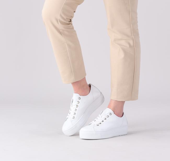 Witte PAUL GREEN Lage sneakers 4790  - large