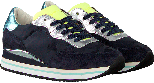 Blauwe CRIME LONDON Sneakers DYNAMIC  - large