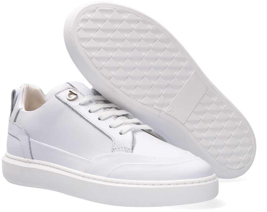 Witte NOTRE-V Lage sneakers 02-16  - larger