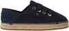 TOMMY HILFIGER ESPADRILLES TH METALLIC LACE UP ESPADRILLE - small