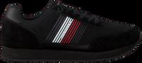 Zwarte TOMMY HILFIGER Lage sneakers CORPORATE RUNNER  - medium