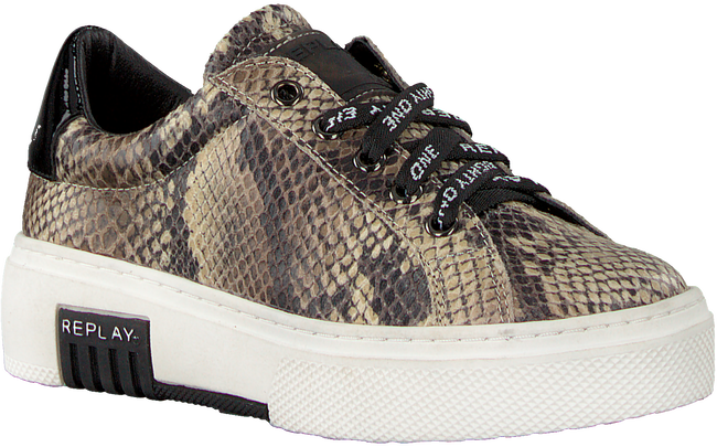 Beige REPLAY Sneakers GINKO  - large