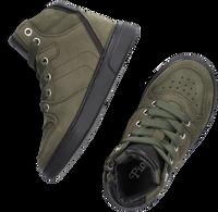 Groene PINOCCHIO Hoge sneaker P1737  - medium
