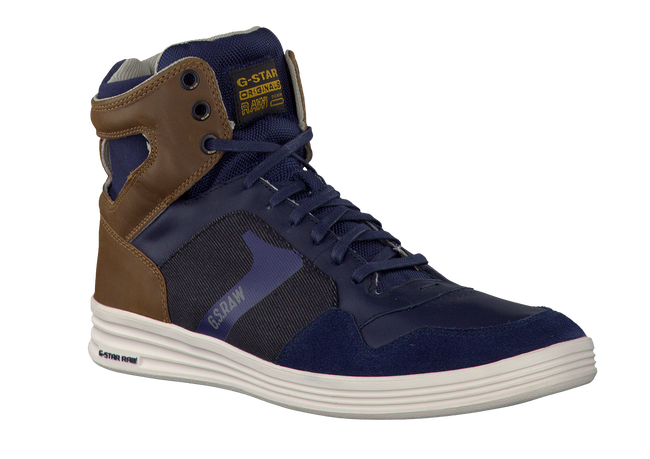 blauwe G-STAR RAW Sneakers GS53655  - large