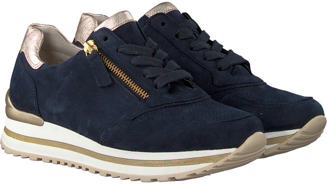 Blauwe GABOR Lage sneakers 528  - large