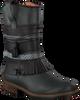 Zwarte KANJERS Lange laarzen 5228RP  - small
